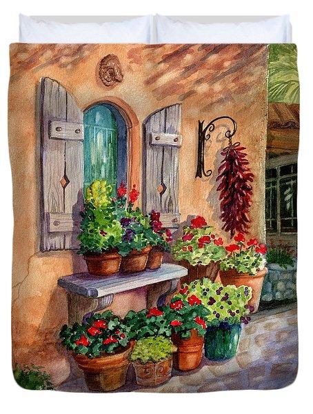 Tia Rosa's Place Duvet Cover