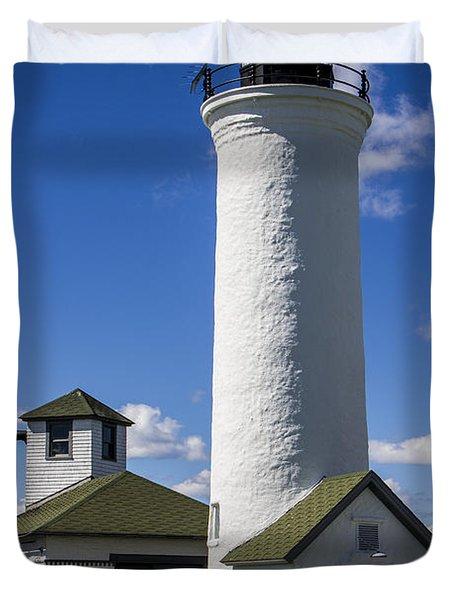 Tibbetts Point Lighthouse Duvet Cover