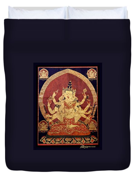 Tibetan Art Duvet Cover