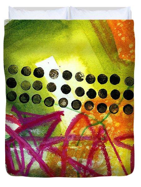 Tidal 15 Duvet Cover by Jane Davies