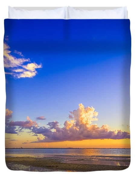 Tide Pools Duvet Cover