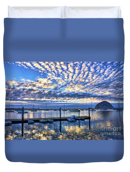 Tidelands Park Reflections Duvet Cover