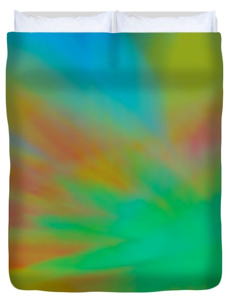 Tie Dye Abstract Duvet Cover