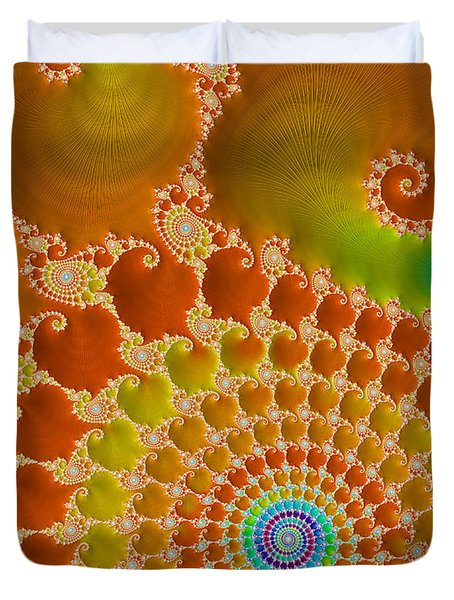 Tie Dye  Duvet Cover by Heidi Smith