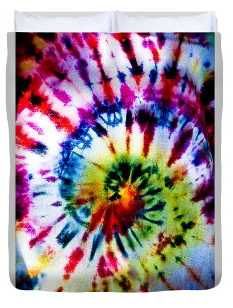 Tie Dyed T-shirt Duvet Cover