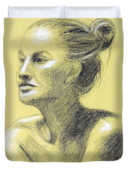 Tiffany Portrait Duvet Cover