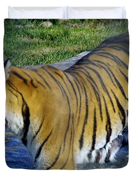 Tiger 4 Duvet Cover