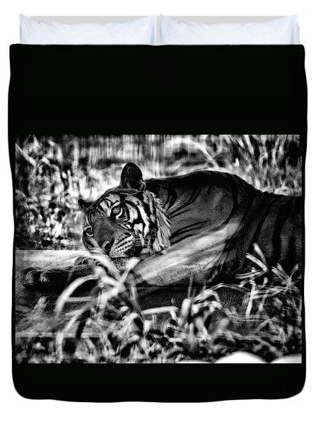 Tiger Duvet Cover by Hayato Matsumoto