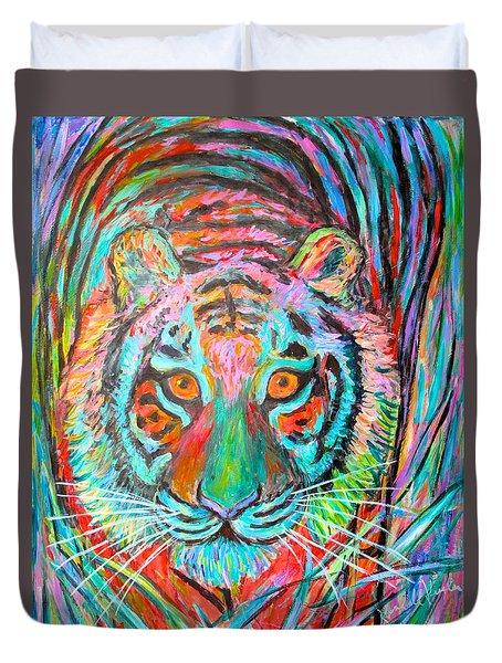 Tiger Stare Duvet Cover