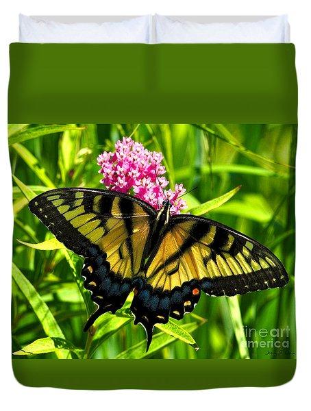 Tiger Swallotail Duvet Cover by Adam Olsen