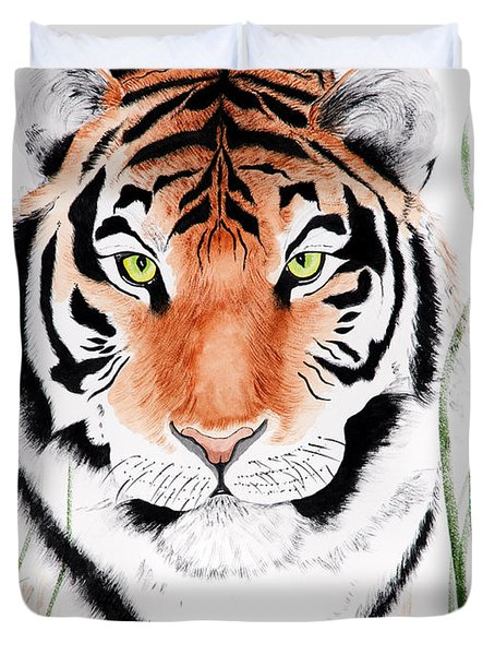 Tiger Tiger Where Duvet Cover