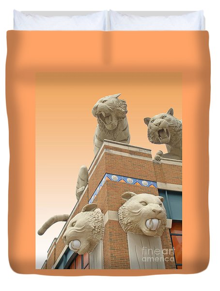 Tiger Town Duvet Cover