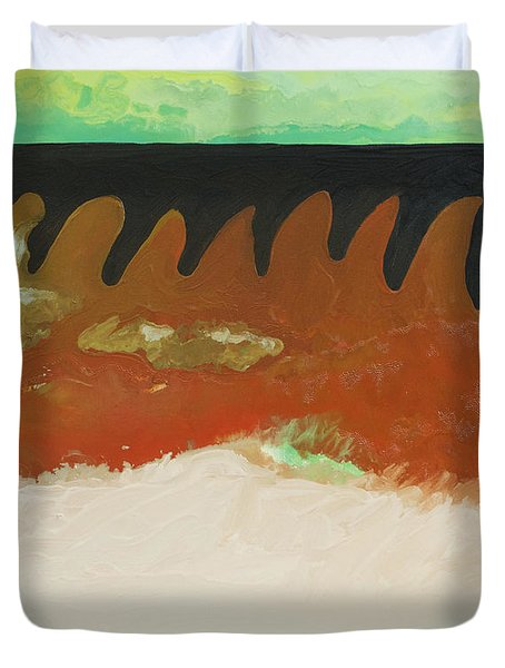 Tigers Hide Duvet Cover by Joseph Demaree