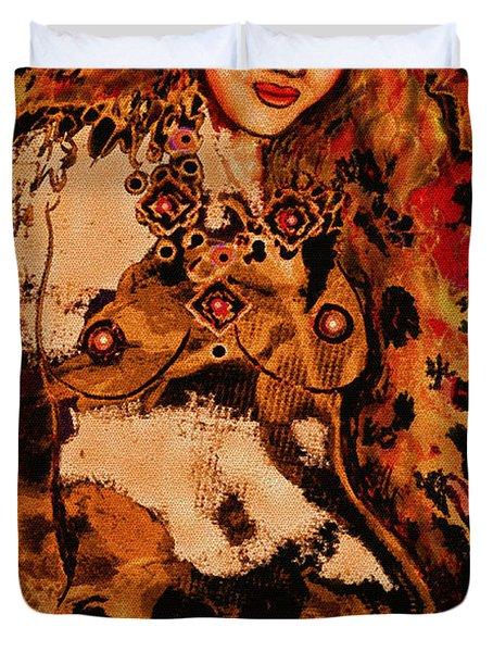 Tigress Duvet Cover