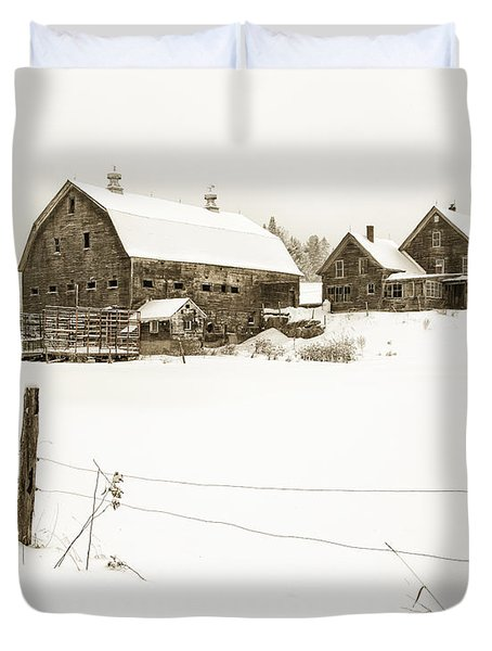 Till Dawn Farm Duvet Cover