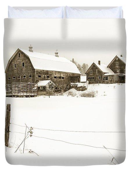 Till Dawn Farm Duvet Cover