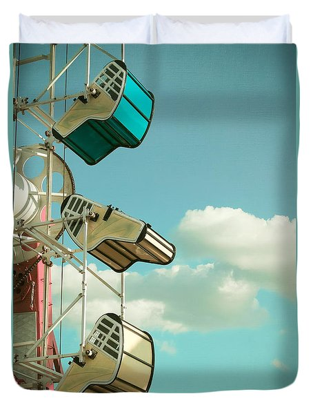 Tilt And Twirl Duvet Cover