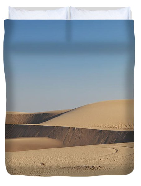 Time Changes Things Duvet Cover