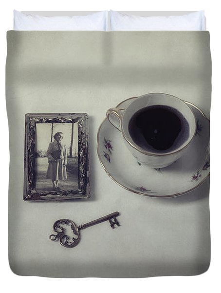 Time For Coffee Duvet Cover by Joana Kruse