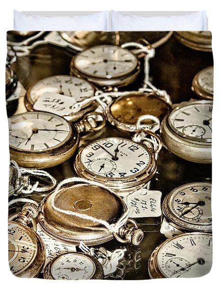 Time For Sale Duvet Cover