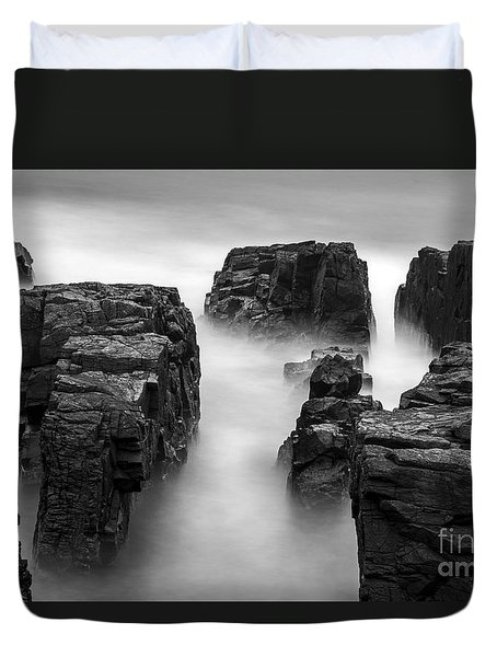 Duvet Cover featuring the photograph Time by Gunnar Orn Arnason