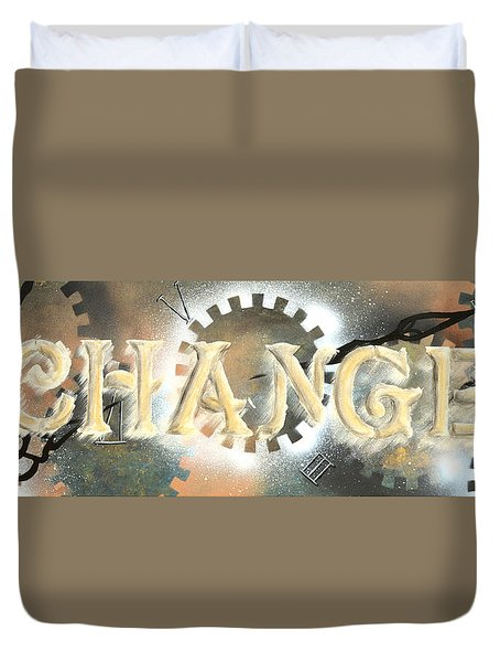 Time To Change Duvet Cover