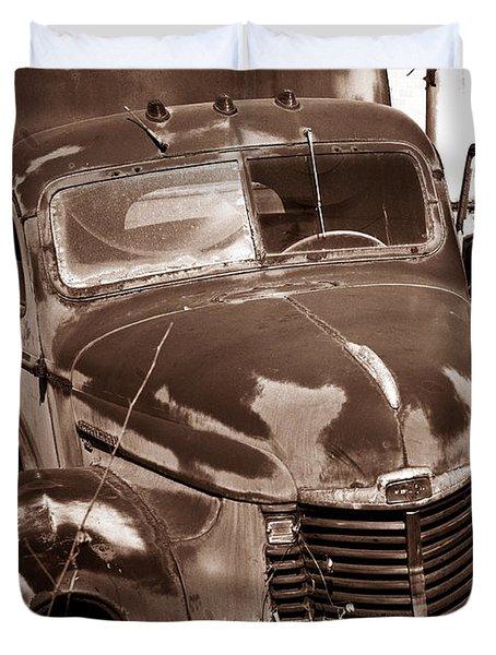 Time Traveler Pennsylvania Ave Wilkes Barre Pa Duvet Cover