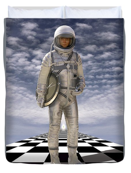 Time Zone Duvet Cover by Mike McGlothlen