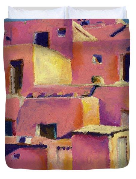 Timeless Adobe Duvet Cover by Stephen Anderson