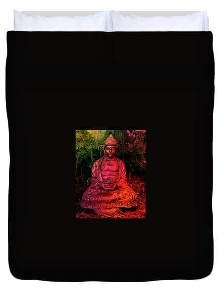Timeless Buddha Duvet Cover