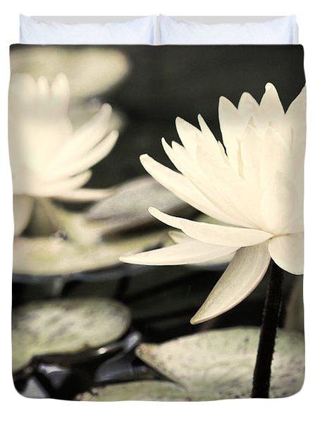 Duvet Cover featuring the photograph Timeless by Lauren Radke