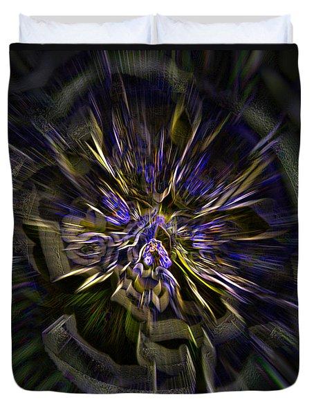 Timeline Duvet Cover by Martina  Rathgens