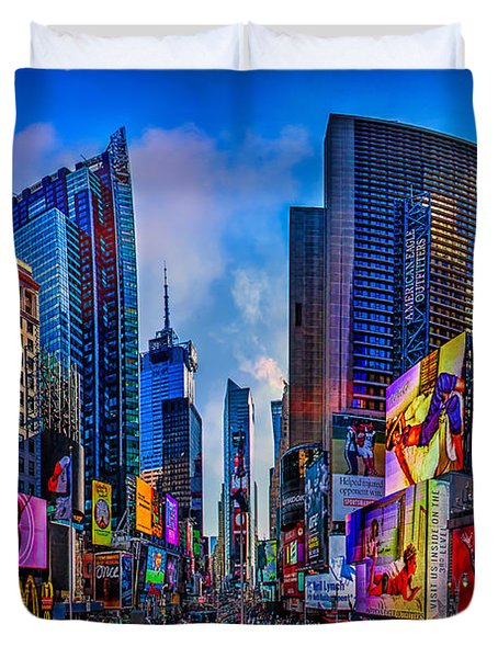Times Square Duvet Cover