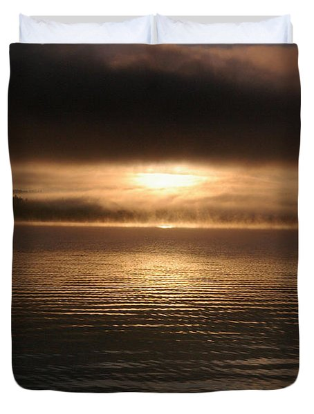 Timothy Lake Mysterious Sunrise 2 Duvet Cover