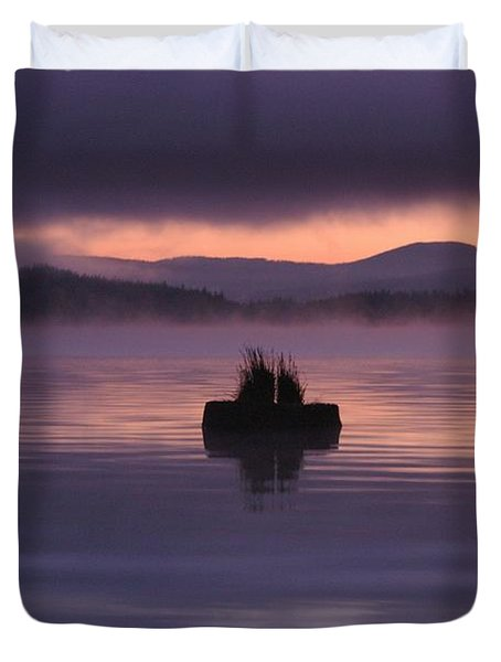 Timothy Lake Serenity Duvet Cover
