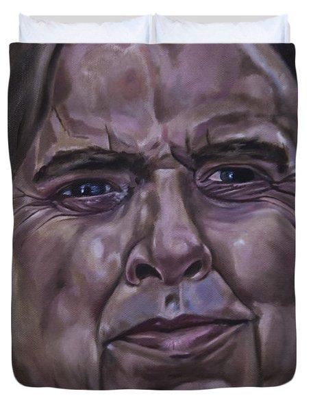 Timothy Spall Duvet Cover