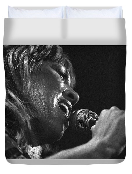 Tina Turner 1 Duvet Cover