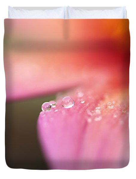 Tiny Bubbles Duvet Cover by Darren Fisher