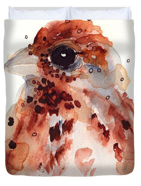Tiny Sparrow Duvet Cover