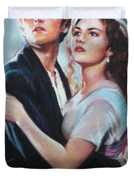 Titanic Jack And Rose Duvet Cover