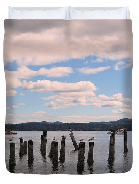To Each His Own Duvet Cover by Kym Backland