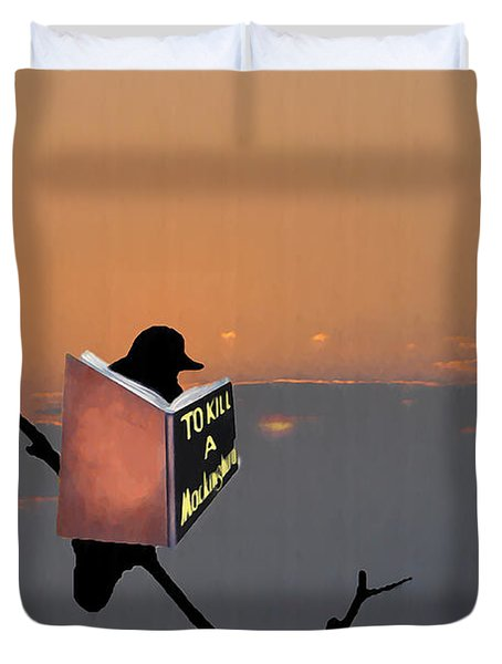 To Kill A Mockingbird Duvet Cover by Bill Cannon