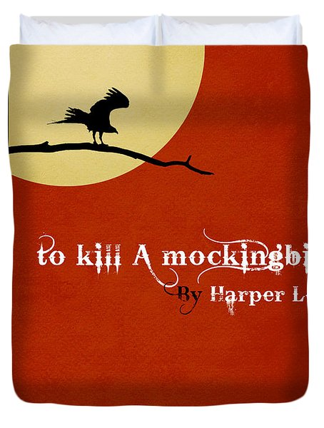 To Kill A Mockingbird Book Cover Movie Poster Art 1 Duvet Cover