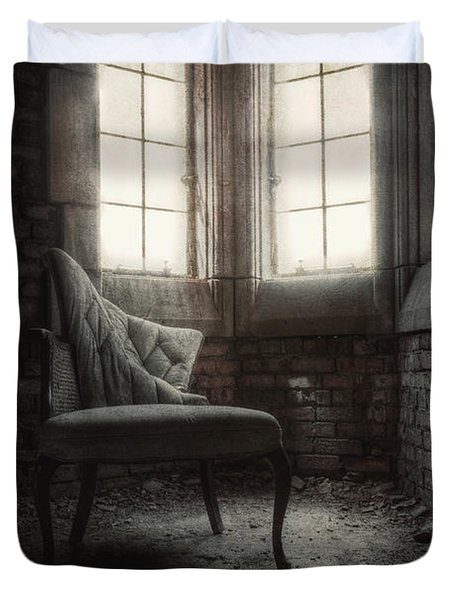 To Light The Way Duvet Cover by Margie Hurwich