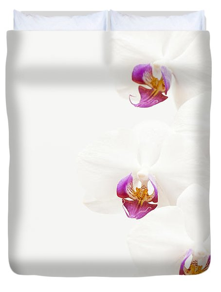 To One Side Duvet Cover by Anne Gilbert