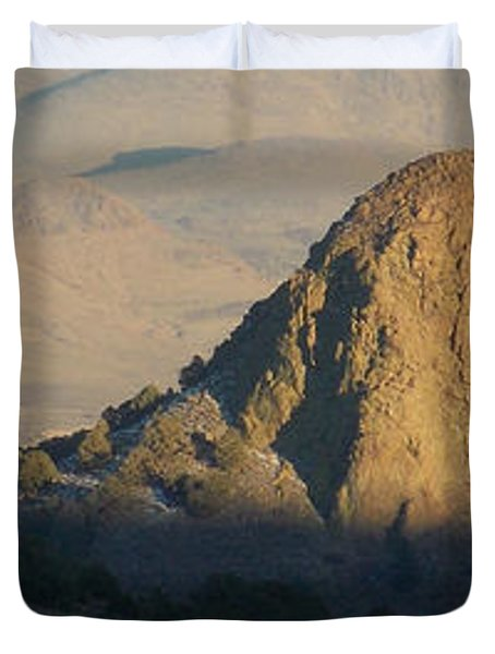 To The End Of Nevada Duvet Cover