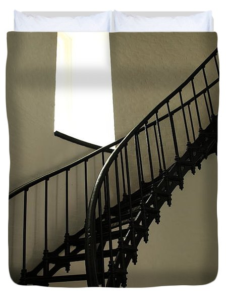 To The Light Duvet Cover