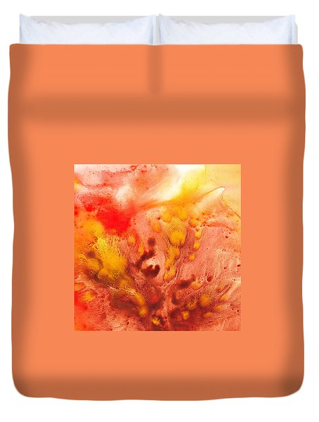 To The Unknown Abstract Path Number Three Duvet Cover by Irina Sztukowski
