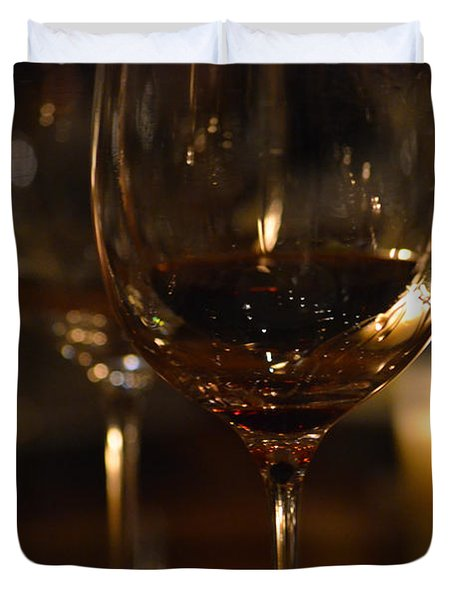 Toast For Wine Lovers 1 Duvet Cover