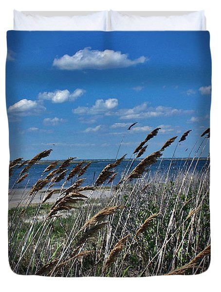 Tobay Beach Li Duvet Cover
